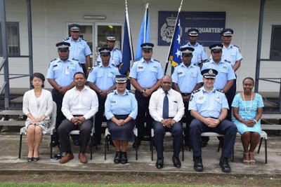 Lima Polisi Kepulauan Solomon Gabung dengan PBB